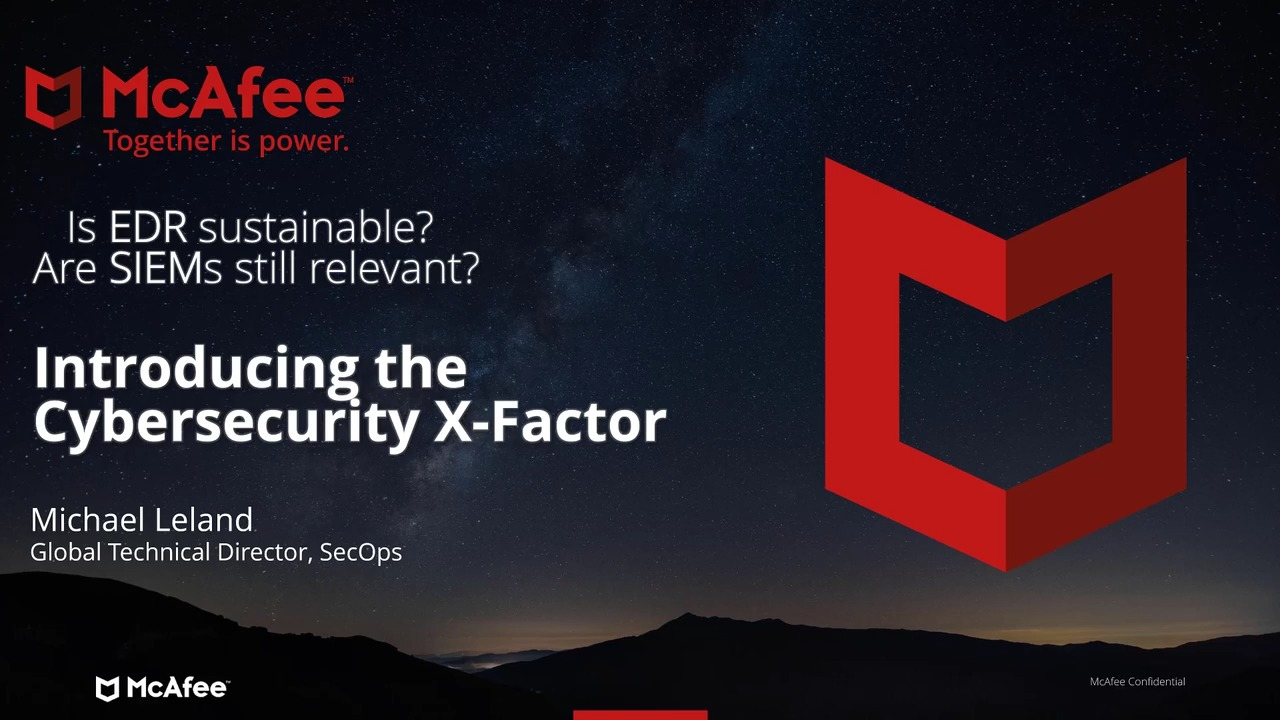 Introducing the Cybersecurity X-Factor